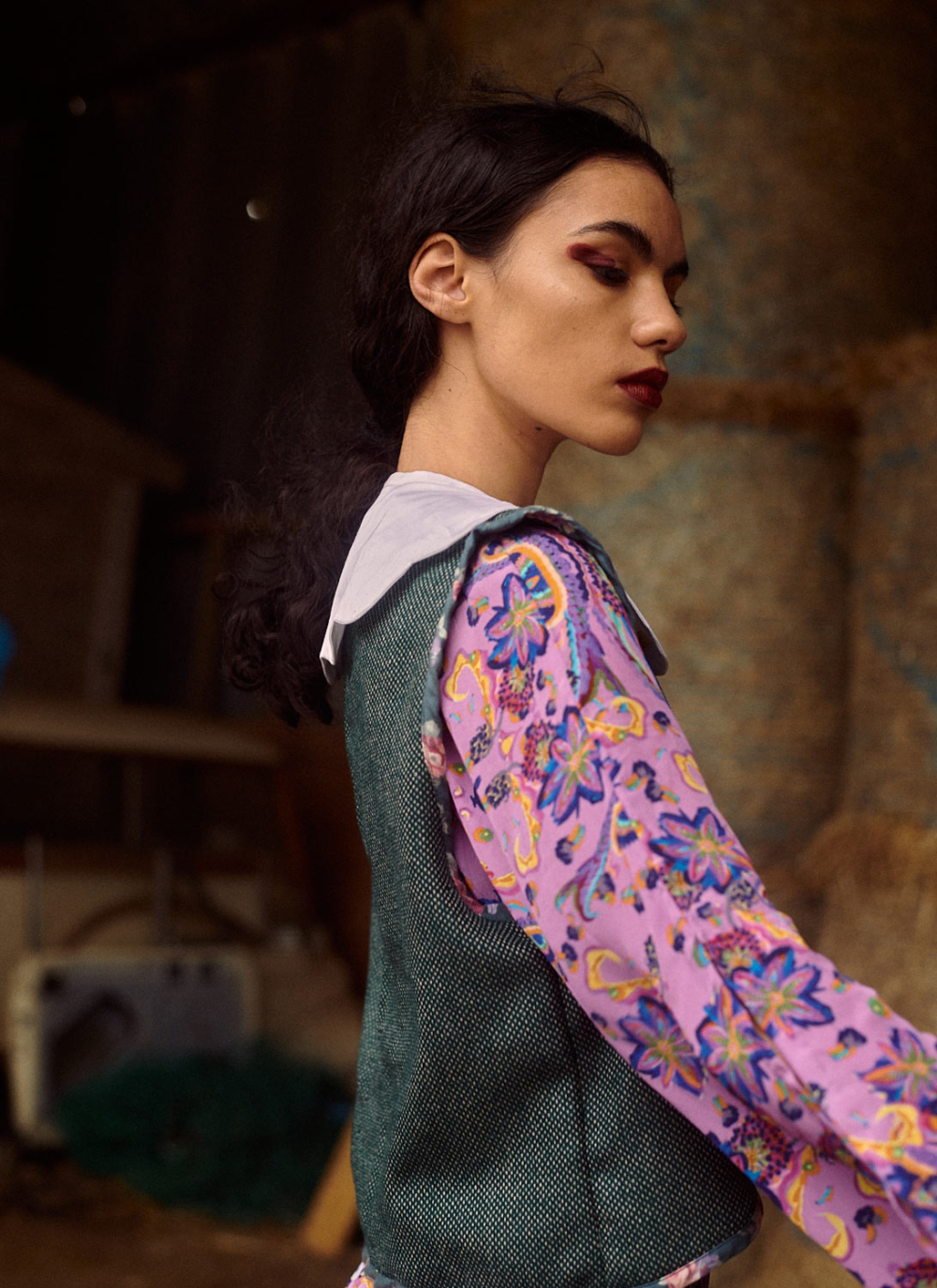 THE ALICE WAISTCOAT-GREEN (SOLD OUT)