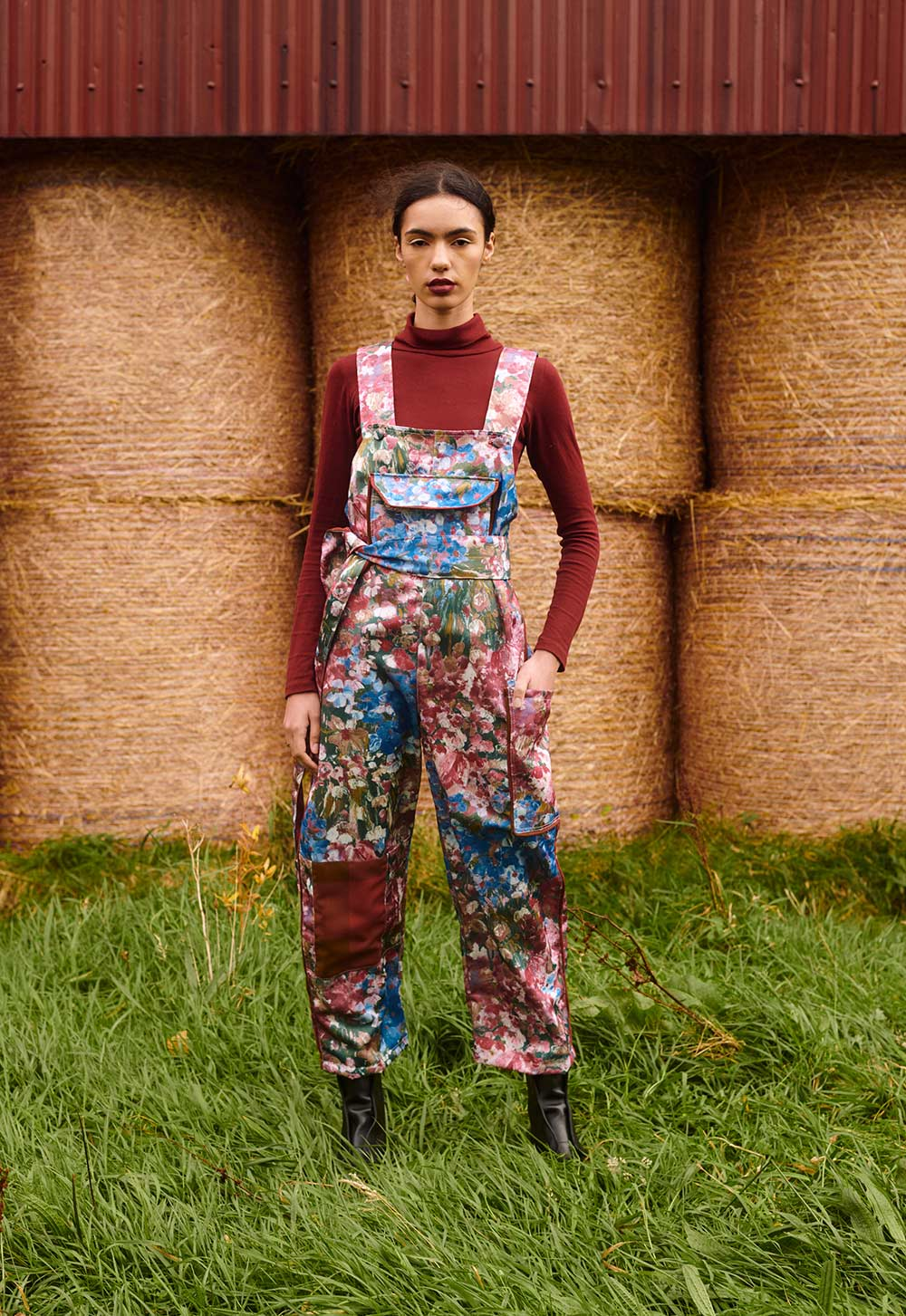 THE CLO DUNGAREES – WATERCOLOUR (SOLD OUT)